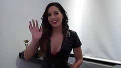 THRUST INSIDE Linda del Sol - Interview before Fucking