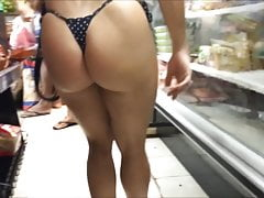 Spy and Voyeur Bikini Sexy Hot Ass and Pussy's Thumb