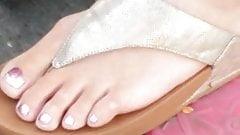 Candid feet  - Polish mum