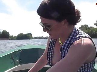 Heisser Fick auf dem Fluss