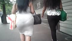BBW Candid Phat Booty in Skirt Pt. 2