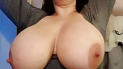 Big Tit Amateur Drying Her Hair