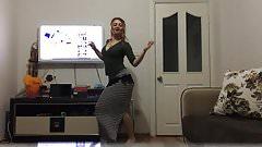 turkish blonde girls hot dance
