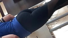 Spandex ass azzes arse
