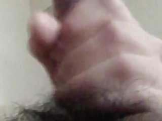 Preview 1 of Hairy dick cumming for you