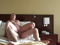 Grinding and gagging to cum explosion. Amateur cuckold