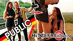 HITZEFREI.dating BLOWJOB at train station, FUCK in SUNRISE