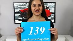Pocket sized babe shagged in casting