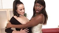 Lucy Love & Jasmine Webb in an MMFF scene