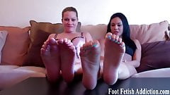 How many of our toes can you fit in your mouth