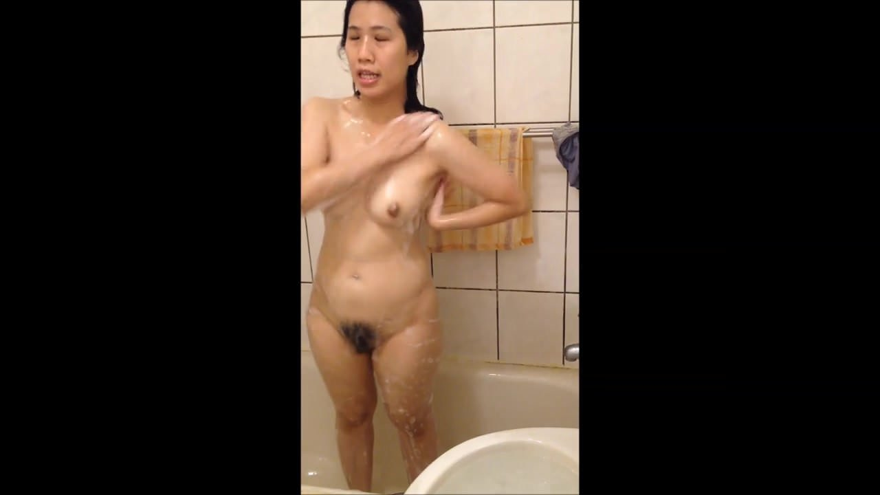 Hidden Spy Cam In Dormitory Bathroom Hot Asian Woman-2440