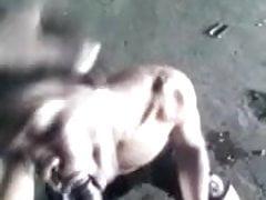 Homeless Jamaican Boys suck Dick for money