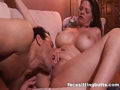 Massive tits milf gets a creampie surprise