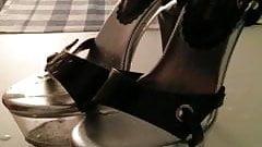 silver heels cumshot