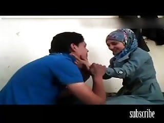 Hot hijab sex between two arabs homemade naked