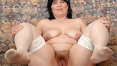 Nasty mature nurse Rosalia