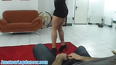 Amazing lapdance by czech hottie