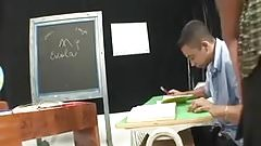 shemal teacher fuck her male student