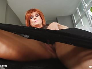 Preview 2 of MILF hot mature lady Nina S gets a nice cock fuck her