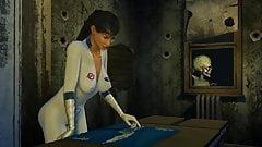Инопланетянин трахает женщину-ученого