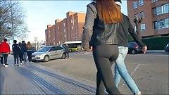 teen hot ass walking