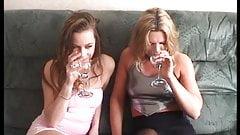 British girls playing