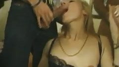 French MILF DP, gang fuck and anal