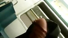 Young Guy Wanks on Bus and is Blown