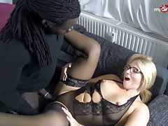 My Dirty Hobby - Busty blonde babe takes a BBC