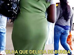 #Bunda Mature Ebony Big Ass - COROA MULATA RABUDA