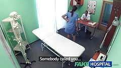 FakeHospital Doctor prank calls his sexy nurse with big tits
