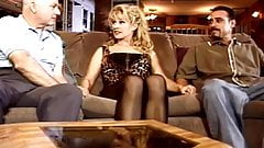 Big Tit Blonde Swinger Threesome