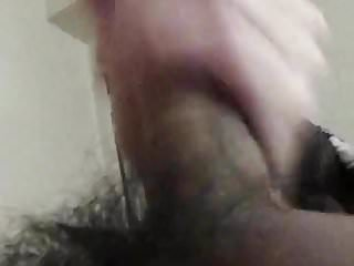 Preview 2 of Hairy dick cumming for you