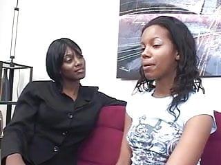 Mature black lesbian sex - Matured lesbian teaches a teen about fucking lesson
