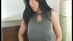 Buxom brunette