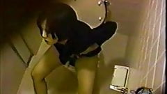 Japanese toilet masturbating hidden cam 5