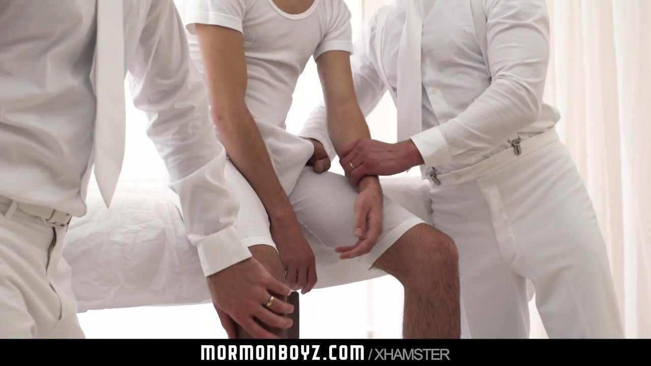 MormonBoyz- Submissive Boy Fucks Two Older Males