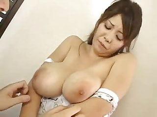 A Japanese girl,big boobs, very sensitive nipples (MrNo)