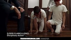 MormonBoyz - Priest Daddies Dildo Two Boys Tight Holes