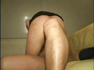 Nice Tit Hairy Asian Babe Riding Cock And Sucking Cum