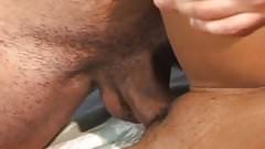 Sexy Thin Black Girl Fucked For Sloppy Facial