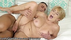 LustyGrandmas Very Mature Penetrated by Fresh Dick