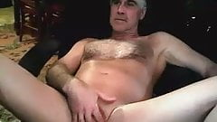 Hairy daddy with a big cock
