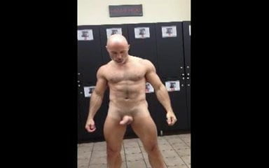gay muscle porn clip: Gym locker room, on hotmusclefucker.com