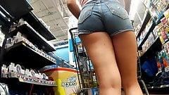 Tight ass tight shorts on the girl next door