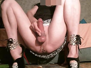 Preview 4 of TRIPLE Cumshot On My Pulsating AssPussy!