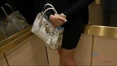 Fucking Katerina Kay's pink pussy in Vegas