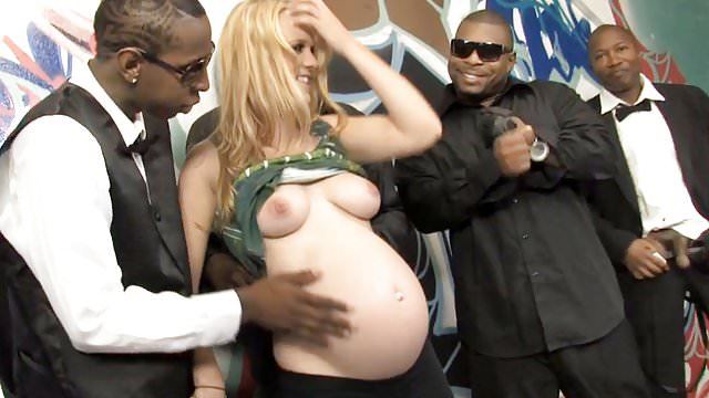 Preview 1 of Pregnant Hydii May BBC Interracial Gangbang