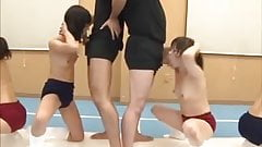japanese cumshot contest