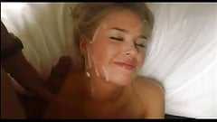 Cute Blond Girl Facial